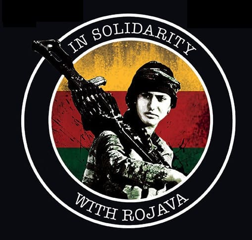 in solidarity with rojava
