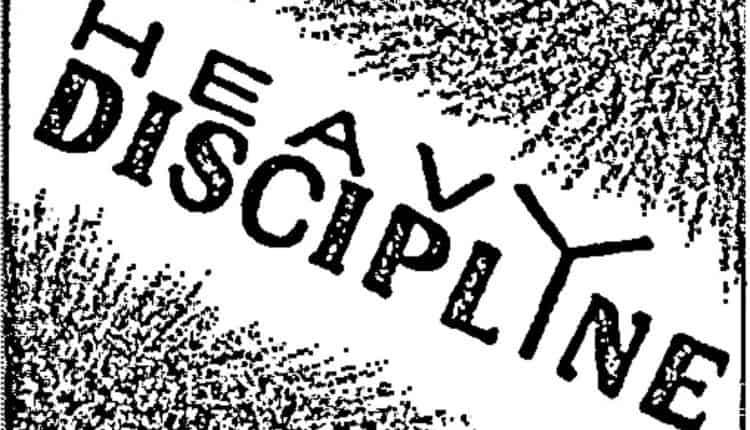 Heavy Discipline – Demo 2019